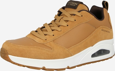 SKECHERS Sneaker 'UNO' in cognac / schwarz, Produktansicht