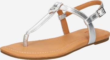 Flip-flops 'Madeena' de la UGG pe argintiu