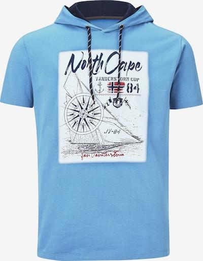 Jan Vanderstorm Shirt 'Staffan' in de kleur Marine / Hemelsblauw / Mintgroen, Productweergave