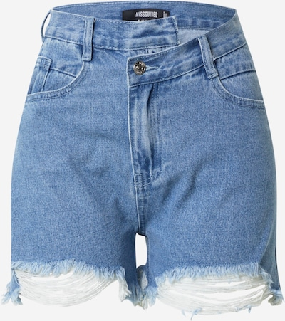 Missguided Džinsi, krāsa - zils džinss, Preces skats