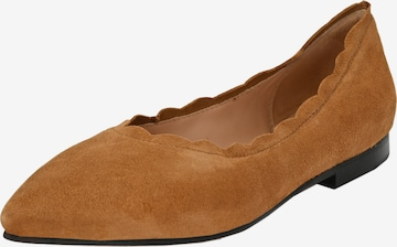 Crickit Ballet Flats 'Leoni' in Brown