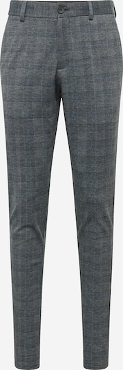JACK & JONES Pantalon chino en bleu / graphite / blanc, Vue avec produit