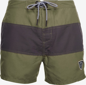 Superdry Swimming Trunks in Green