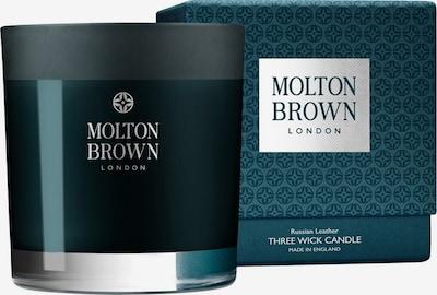 Molton Brown Kerze 'Russian Leather Three Wick' in dunkelblau, Produktansicht