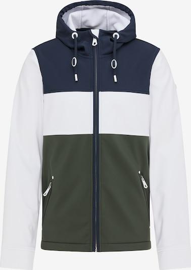 DreiMaster Maritim Jacke in nachtblau / oliv / weiß, Produktansicht