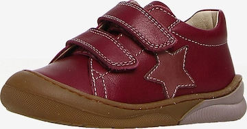 NATURINO Sneakers 'BABE' in Red