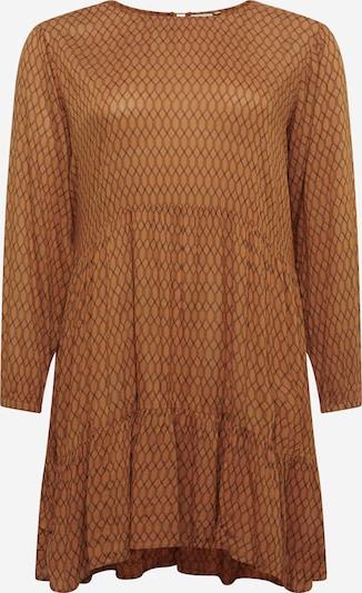 KAFFE CURVE Sukienka 'Carla ' w kolorze karmelowy / czarnym, Podgląd produktu
