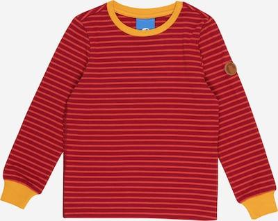 FINKID Shirt in de kleur Goudgeel / Karmijnrood / Watermeloen rood, Productweergave