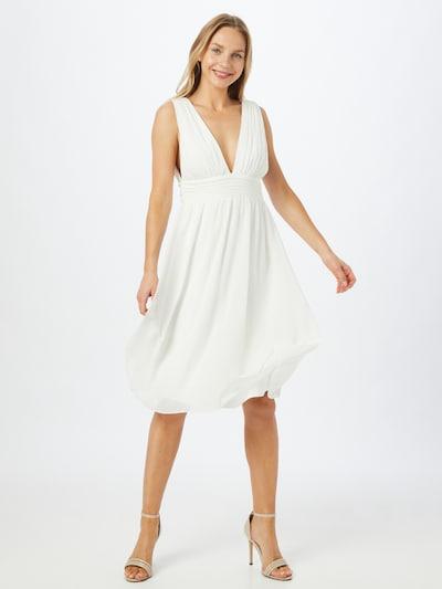 STAR NIGHT Kleid in creme, Modelansicht