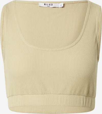 NA-KD Top in beige, Produktansicht