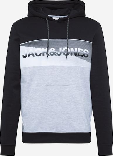 JACK & JONES Majica 'JENSON' | svetlo siva / temno siva / črna barva, Prikaz izdelka