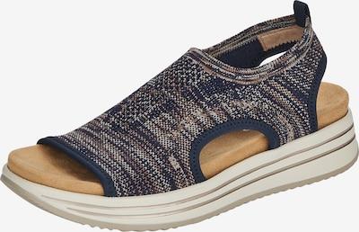 REMONTE Sandale in beige / navy, Produktansicht