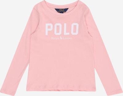 POLO RALPH LAUREN Shirt in rosa / weiß, Produktansicht