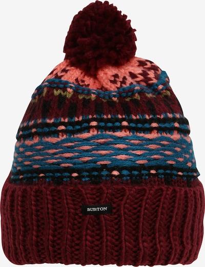 BURTON Athletic Hat 'Walden' in Sky blue / Peach / Blood red / Black, Item view