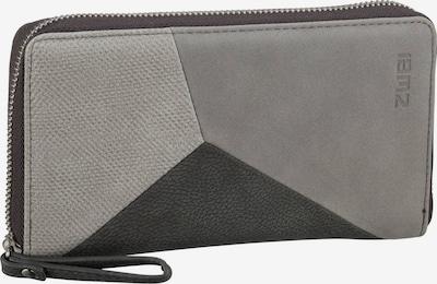 ZWEI Portemonnaie ' Jana' in grau / anthrazit / hellgrau, Produktansicht