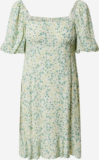Forever New Robe d'été 'Veronica' en jaune chiné / vert / blanc, Vue avec produit