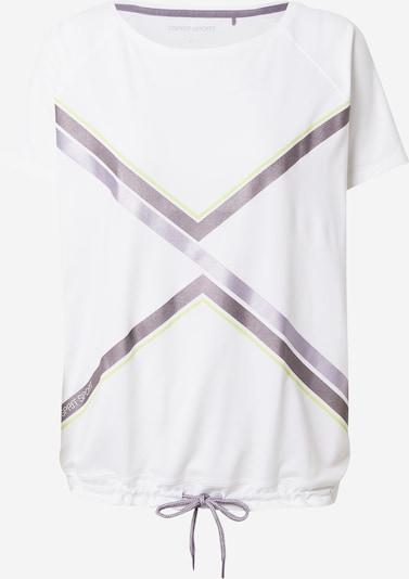 ESPRIT SPORT Sportshirt in zitronengelb / lila / aubergine / weiß, Produktansicht