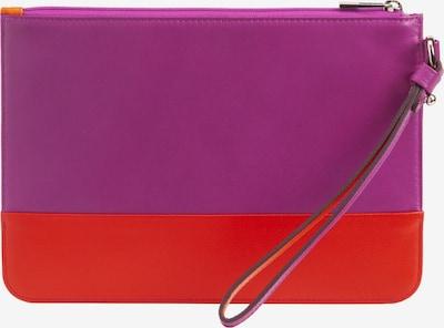 DuDu Portemonnaie 'Lipari' in lila / rot, Produktansicht