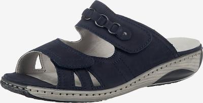 WALDLÄUFER Pantoletten in blau, Produktansicht