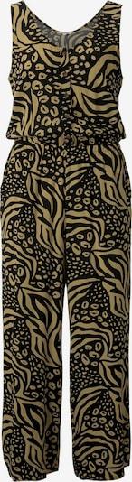 TOM TAILOR DENIM Jumpsuit in zitronengelb / schwarz, Produktansicht