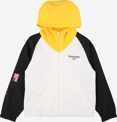 POLO RALPH LAUREN Tussenjas in de kleur Geel / Zwart / Wit, Productweergave