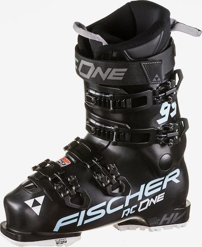 FISCHER Skischuhe 'RC One 95X' in hellblau / grau / schwarz / weiß, Produktansicht