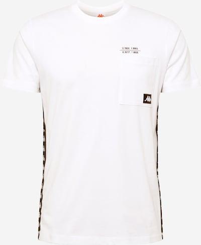 KAPPA Majica 'HELAN' u crna / bijela, Pregled proizvoda