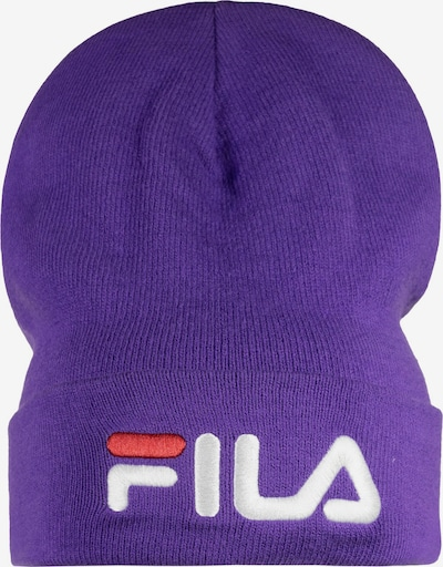 FILA Mütze 'Slouchy Leniar' in lila / rot / weiß, Produktansicht