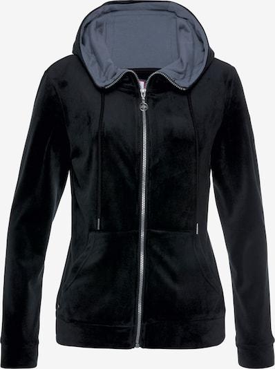 KangaROOS Sweatjacke in schwarz, Produktansicht