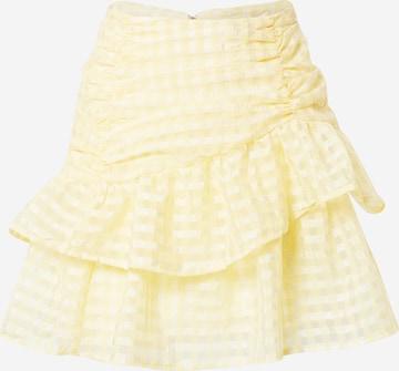 Gina Tricot Skirt 'Simone' in Yellow