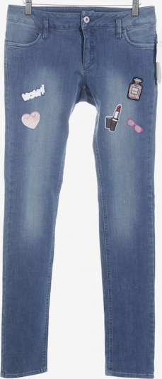 Eugen Klein Stretch Jeans in 27-28 in blau / rosé, Produktansicht