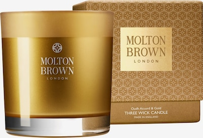Molton Brown Mesmering Oudh Accord & Gold Three Wick Candle in gold, Produktansicht
