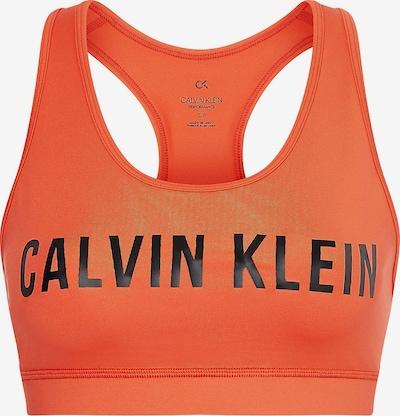 Calvin Klein Performance Sport-BH in orange / schwarz, Produktansicht