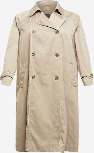 Demisezoninis paltas 'TIMO' iš Persona by Marina Rinaldi, spalva – smėlio spalva, Prekių apžvalga