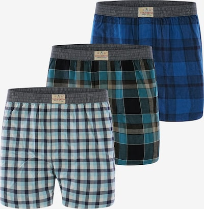 Luca David Boxer shorts ' Olden Glory ' in Blue, Item view