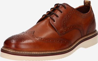 Pantofi cu șireturi 'MARCELLO' base London pe maro ruginiu, Vizualizare produs