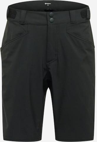 ZIENER Παντελόνι φόρμας 'NIW X-FUNCTION' σε μαύρο