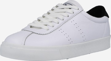 Sneaker low 'Comfleau' de la SUPERGA pe alb