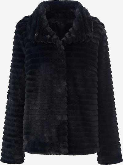 MYBC Webpelz-Jacke in schwarz, Produktansicht