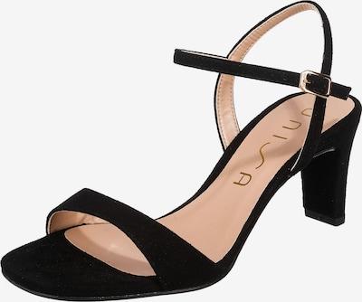 UNISA Sandalette 'Mechi' in schwarz, Produktansicht