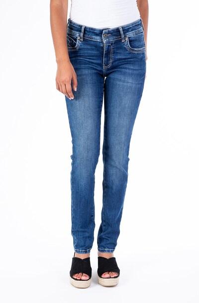 Blue Monkey Slim Fit Jeans Laura in blau, Modelansicht