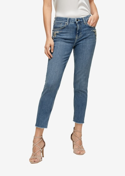 s.Oliver BLACK LABEL Jeans in blue denim, Modelansicht