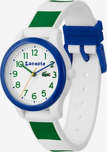 LACOSTE Analoguhr in blau / grün / weiß, Produktansicht