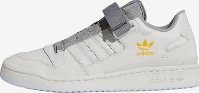 ADIDAS ORIGINALS Sneaker 'Forum' in gelb / grau / weiß, Produktansicht
