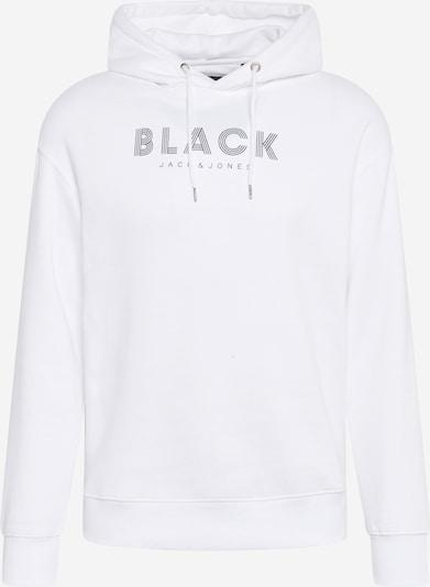 JACK & JONES Sweat-shirt en noir / blanc, Vue avec produit