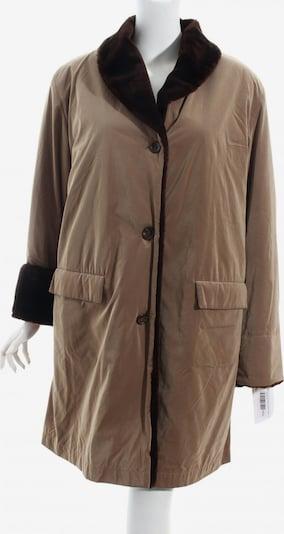 Zapa Wintermantel in XL in beige / dunkelbraun, Produktansicht