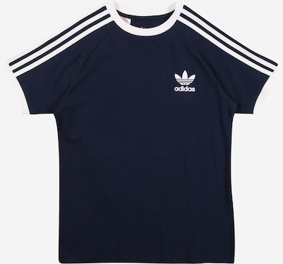 ADIDAS ORIGINALS T-Shirt in navy / weiß, Produktansicht