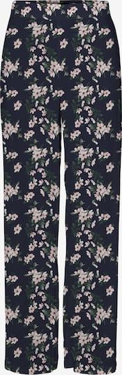 Pantaloni VERO MODA di colore navy / verde scuro / rosa pastello, Visualizzazione prodotti