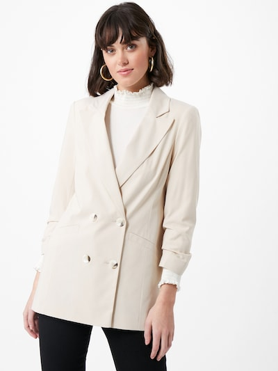 Miss Selfridge Blazer in beige, Modelansicht