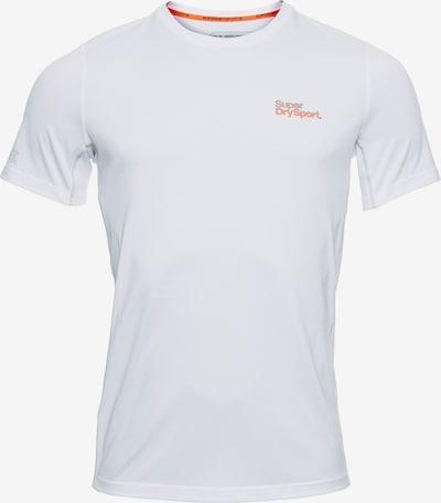 Superdry T-Shirt in orange / weiß, Produktansicht